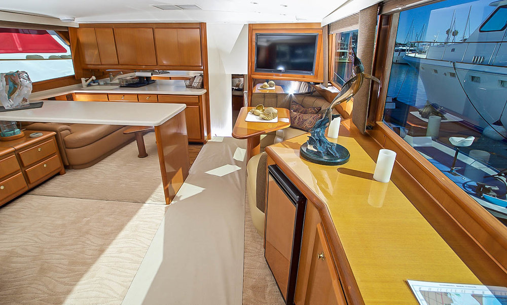 "Kusler Yachts latest Viking Yachts listing in San Diego 58 ""Mudanzas"""