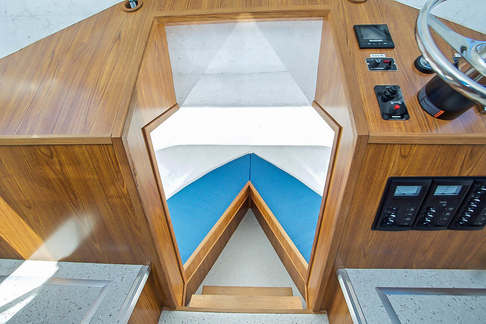 Little Hoquiam Pilothouse Interior
