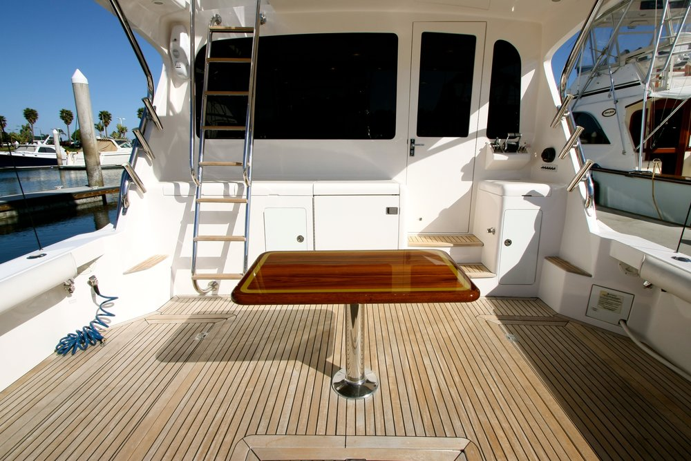 Cockpit view Cabo 40 For Sale by Kusler Yachts #caboyachts