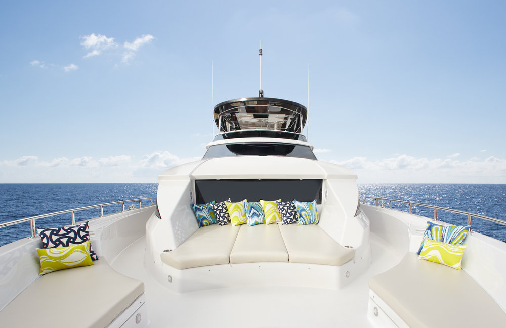 2018 Hatteras Yachts 70 Motor Yacht For Sale by Kusler Yachts