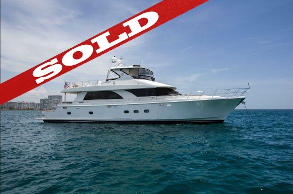 80 Ocean Alexander SOLD by Kusler Yachts