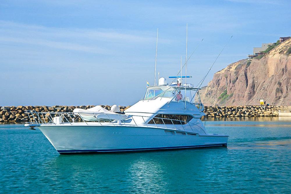 60' Hatteras Yachts Convertible For Sale by Kusler Yachts California Hatteras Dealer