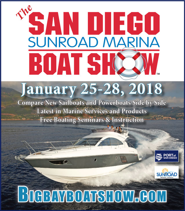 Visit Kusler Yachts at the San Diego Boat Show this January 2018 - Contact (866) 607-5471