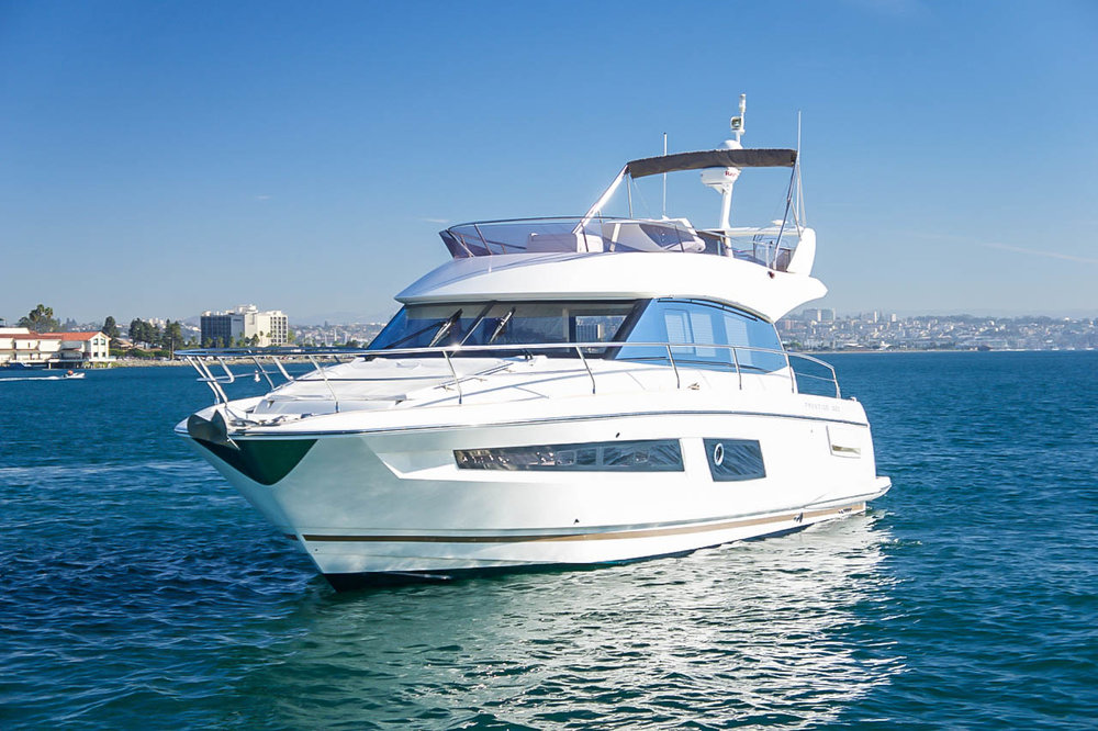 Prestige 450 for sale by Kusler Yachts