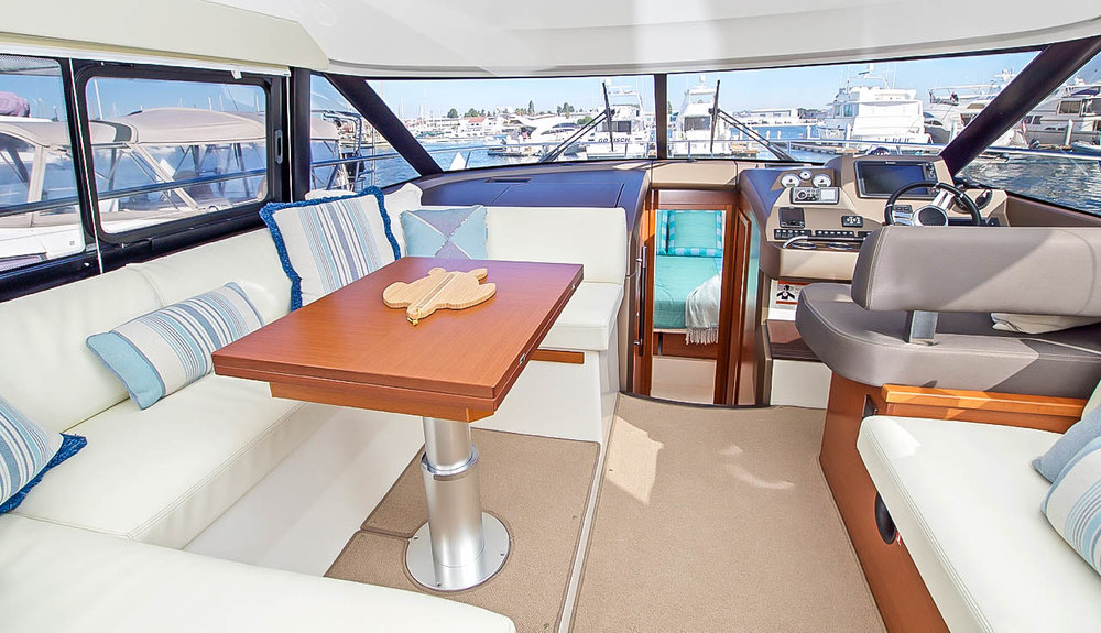 Prestige 450 Salon - Contact Scott Veach at Kusler Yachts for more information!