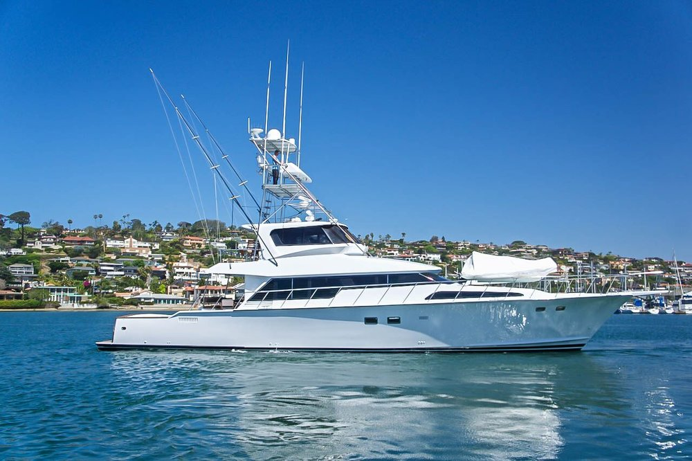 "80' Knight and Carver ""JANAMARI"" for sale by Kusler Yachts"