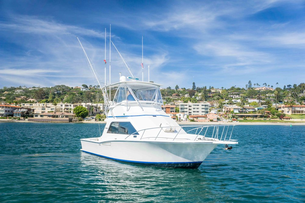 Cabo Yachts 35 Flybridge For Sale by Kusler Yachts San Diego California Yacht Brokers