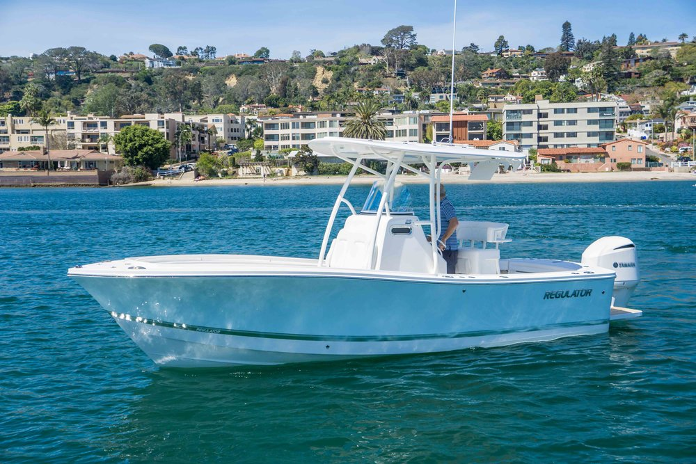 Regulator 23 Center Console For Sale by Kusler Yachts San Diego Yacht Brokers