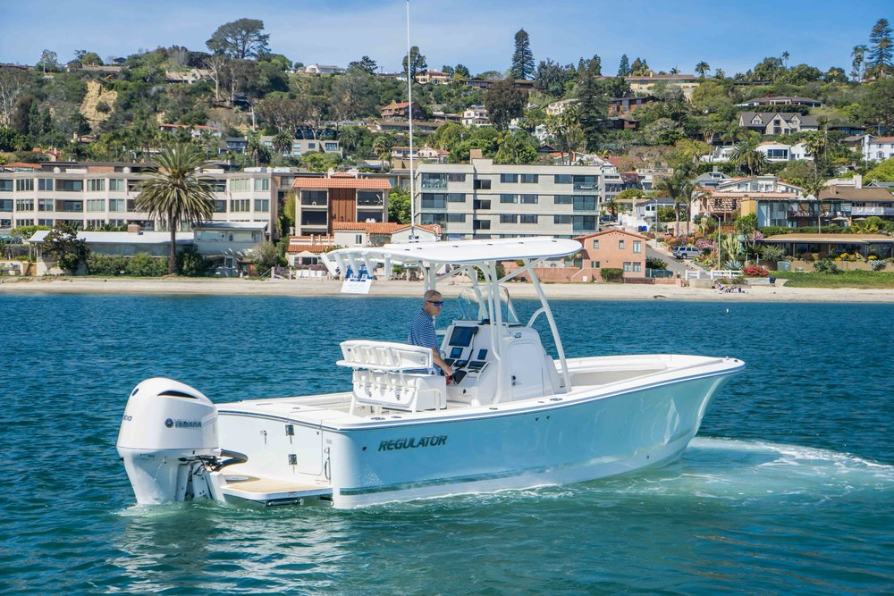 2018 23' Regulator Center Console for sale by Kusler Yachts