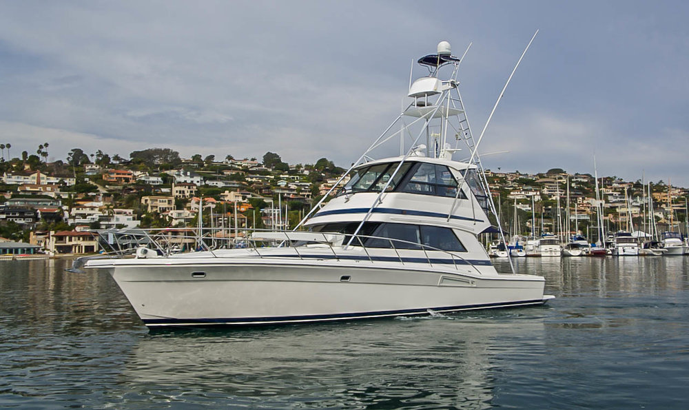 48 Riviera Convertible Fishing Boat For Sale by Kusler Yachts