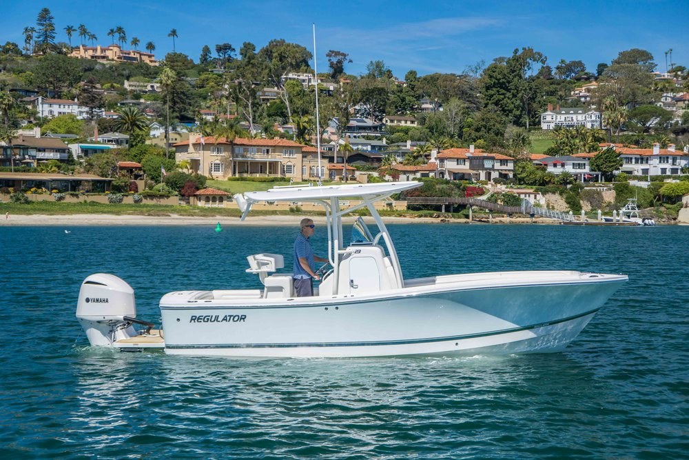 2018 23' Regulator Center Console Fishing Boat For Sale - Contact San Diego Yacht Brokers