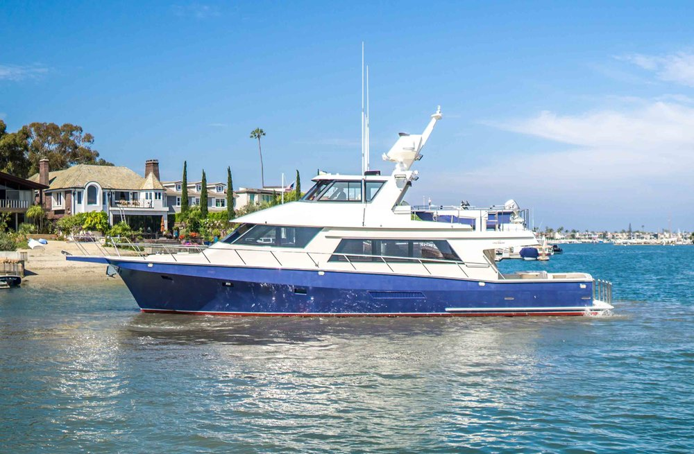 "68' hoquiam Long Range Yachtfisher ""BLACKSMITH"" for sale by Kusler Yachts"