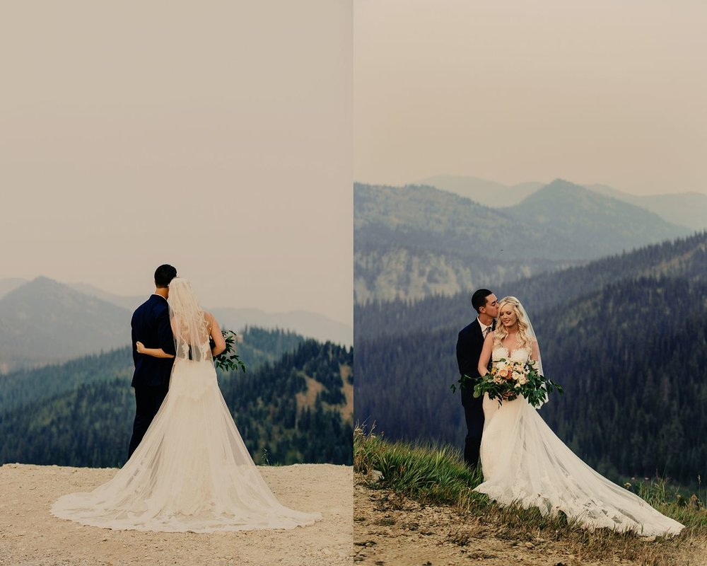 elizabeth & ryan | a perfect dream wedding at the top of the world