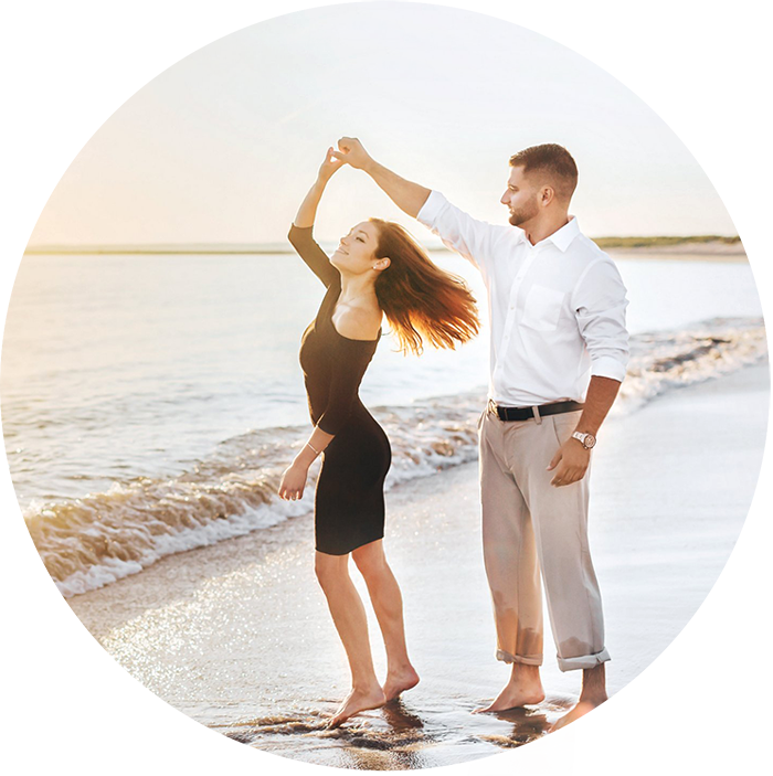 A sunrise Crane Beach engagement shoot