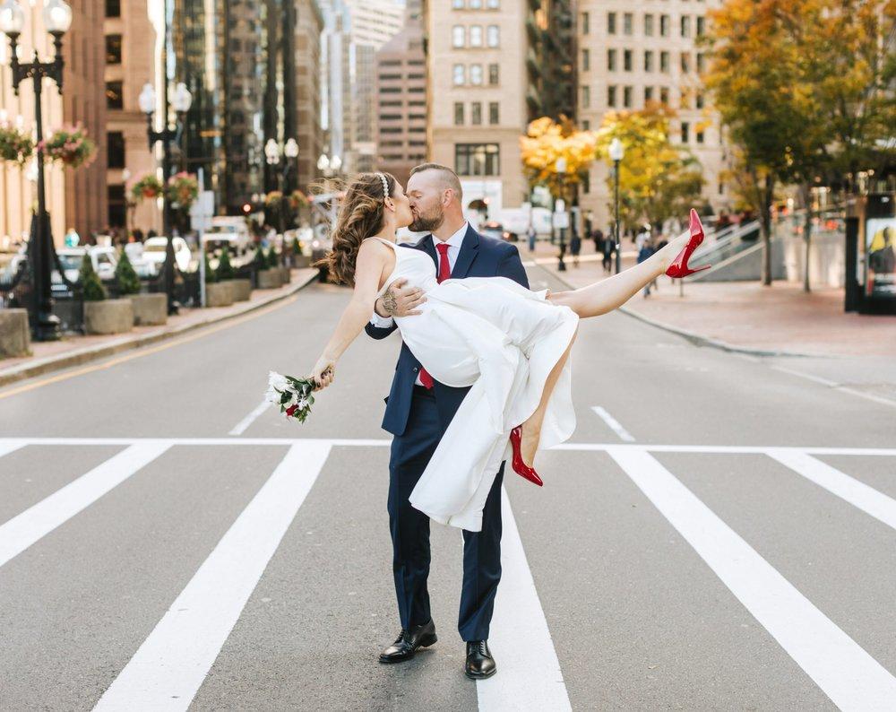 Boston City Hall Wedding