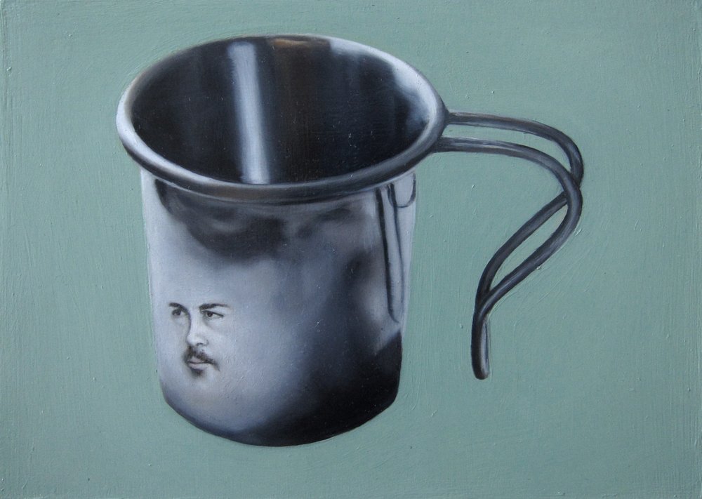 Dominic as his Tin Cup, A Gift