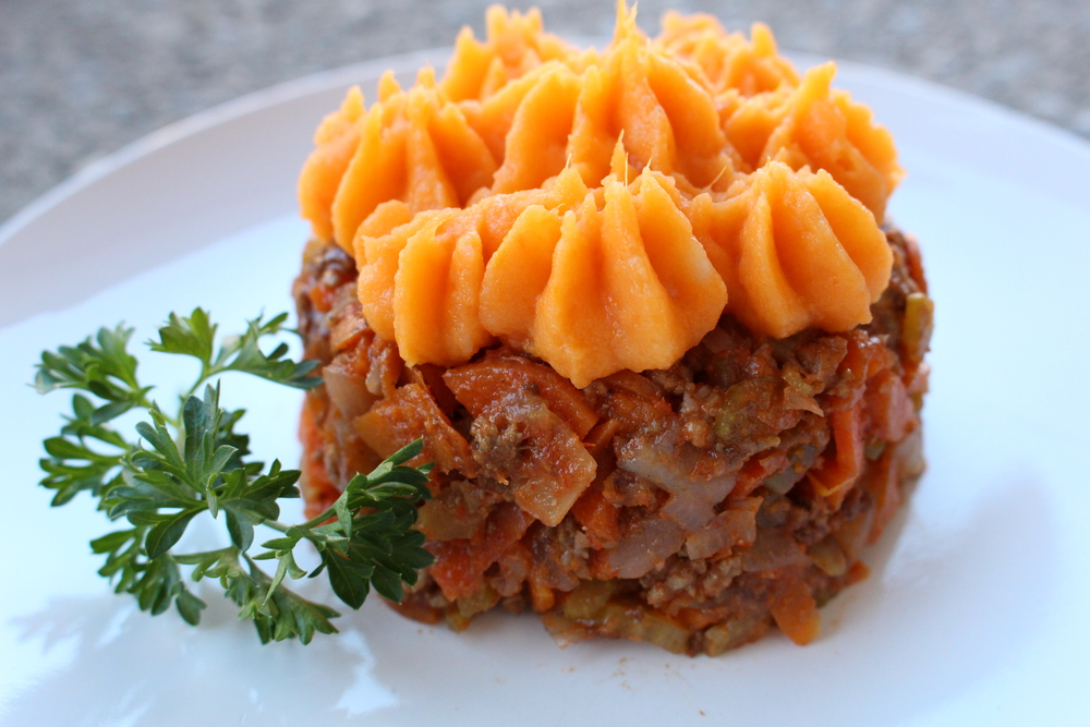 Beef Shepherd's Pie - gluten & dairy free and definitely a bestseller in the cooler months!