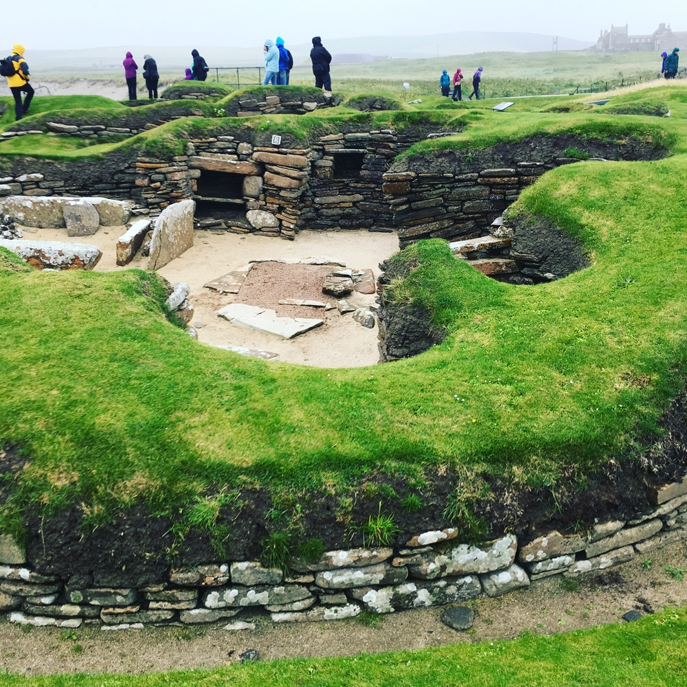 The incredible Skara Brae.