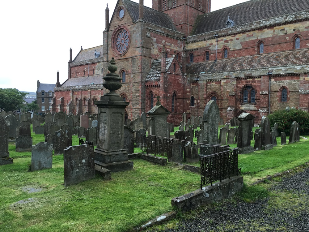 St. Magnus Cathedral and grounds, Kirkwall.
