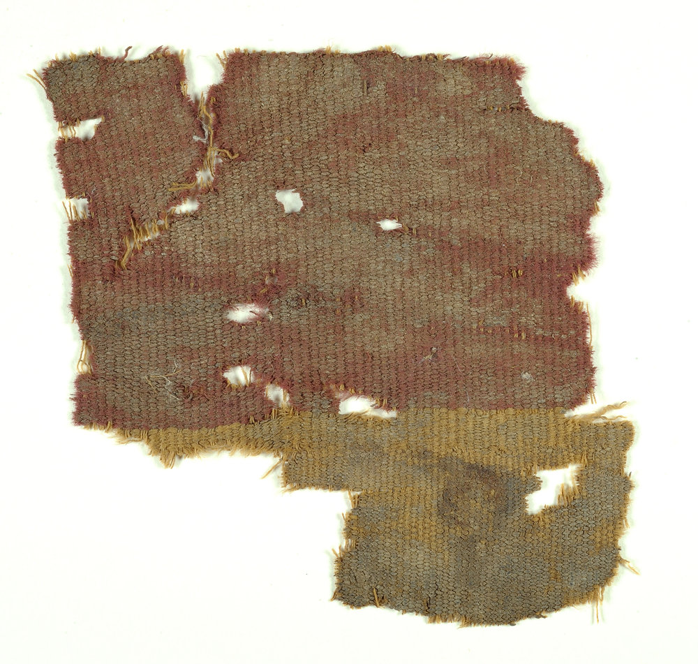 Fiber dyed with extract from the Murex Snail. http://israelaa.ca/three-rare-2000-years-old-fabrics-dyed-with-an-extract-from-the-murex-snail-uncovered/