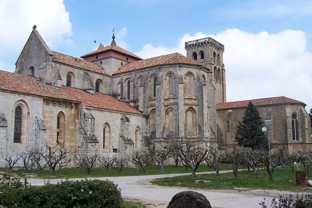 The Abbey of Santa Maria la Real de la Huelgas.