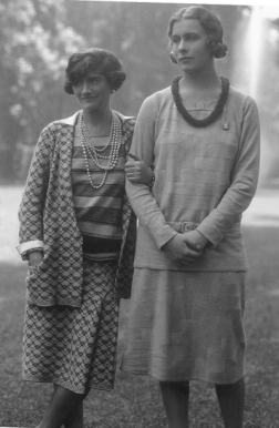 Coco Chanel with Lady Abdy, May 1929.