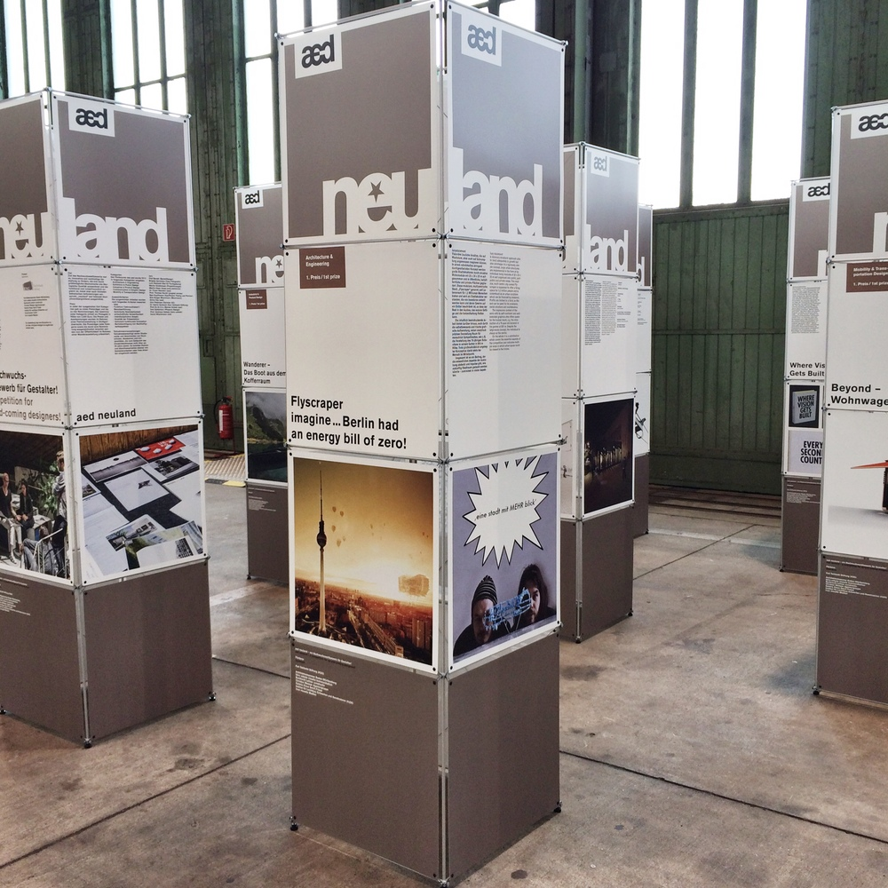 AED Neuland- Ausstellung