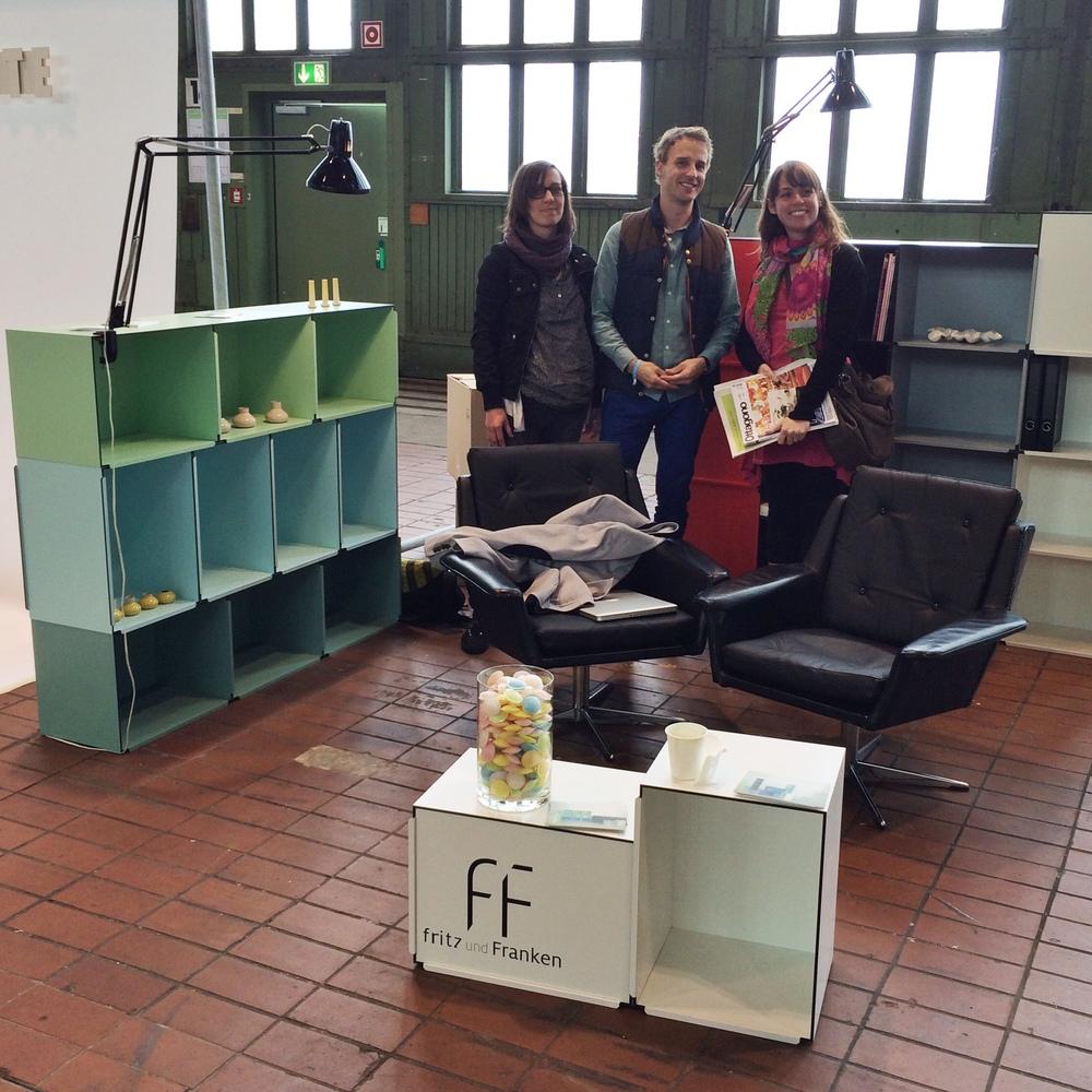 'FF-Kontur' - Friedrich Gerdes und Miriam Frankenfritz und Franken