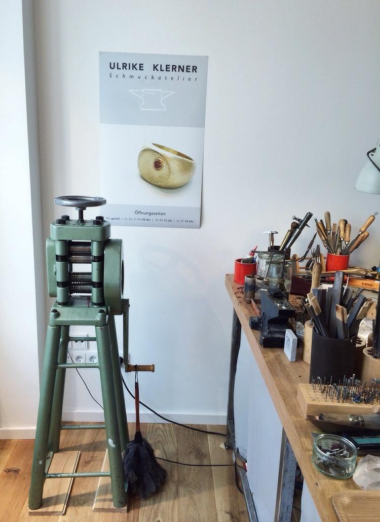 ulrike klerners schmuckatelier in lüneburg — mirjam otto, Innenarchitektur ideen
