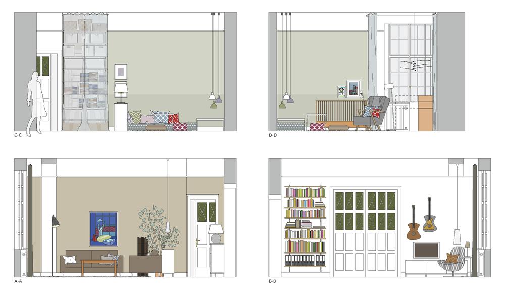 altbauwohnung mirjam otto raumkunst und innenr 228 ume. Black Bedroom Furniture Sets. Home Design Ideas