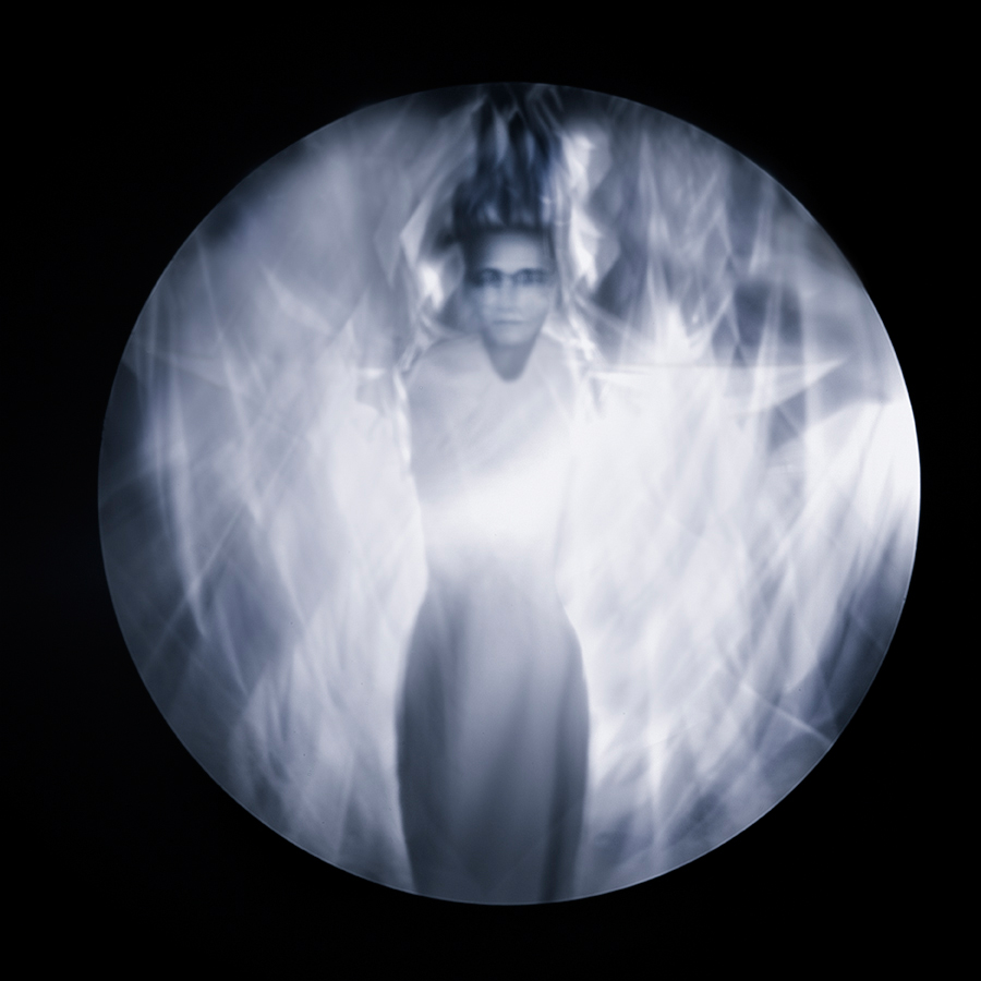 "Cathy Dutertre, Deity, ""Behind the Veil"" series, 2014"