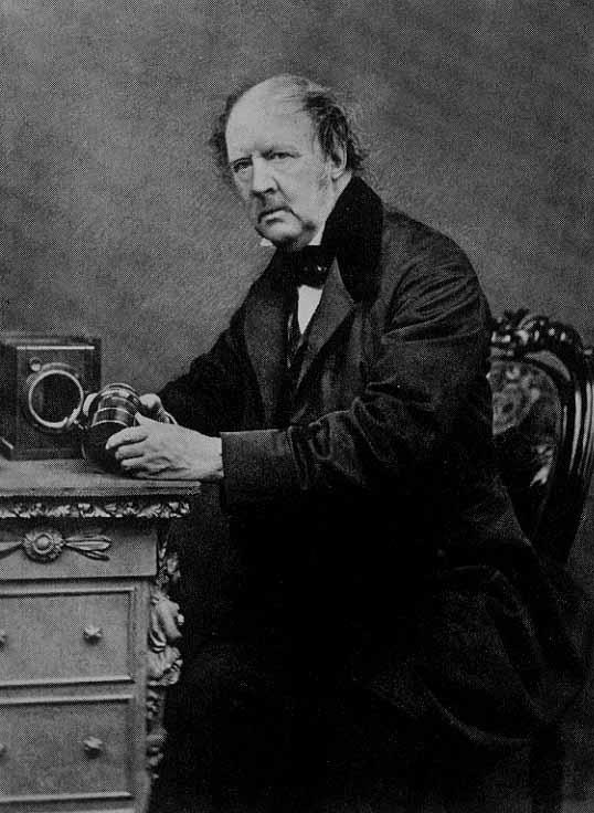 Portrait of William-Henry Fox Talbot, Calotype Salt Print (The James Irvine Foundation )