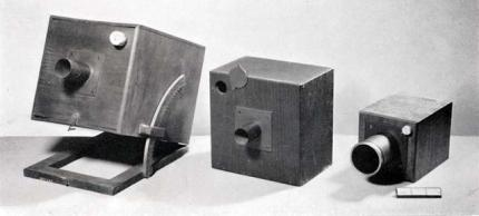 An example of the types of cameras used for the Calotype (Vince)