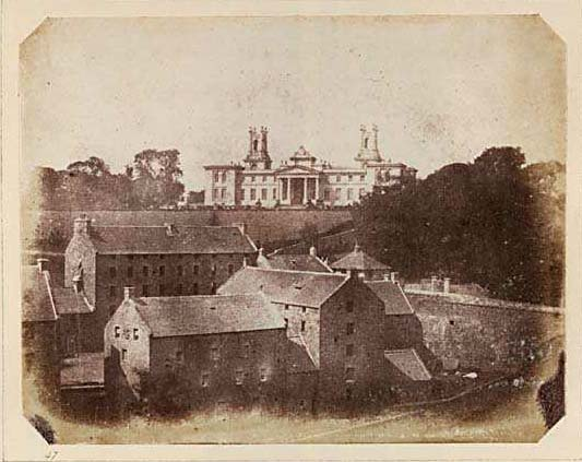 Dean Orphanage, Calotype ~View looking over Dean Village in the valley of the Water of Leith (Edin Photo)