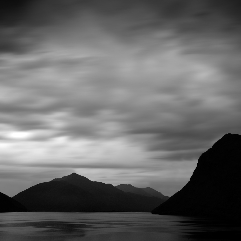 """Dark Mountains 1"" by Scott Bolendz"