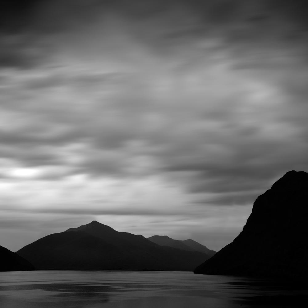 """""""Dark Mountains 1"""" by Scott Bolendz"""
