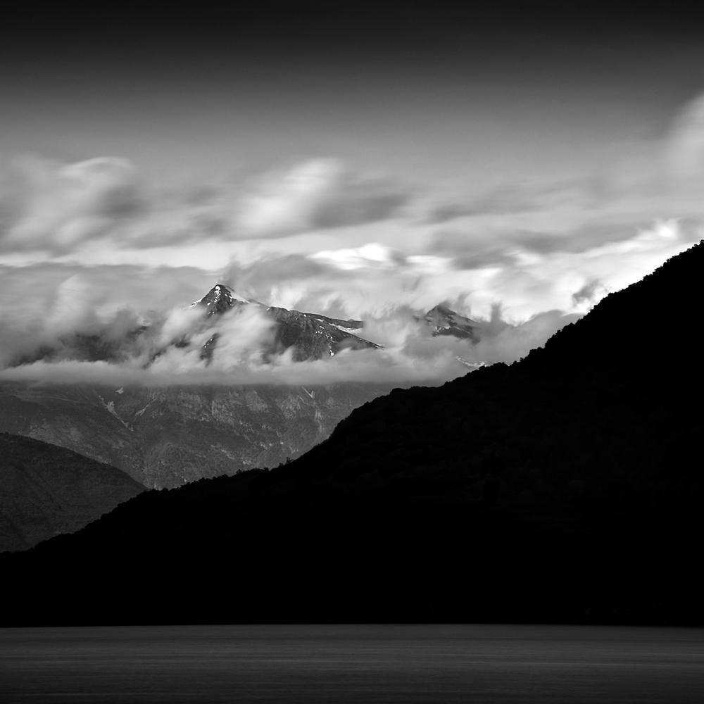 """""""Dark Mountains 4"""" by Scott Bolendz"""
