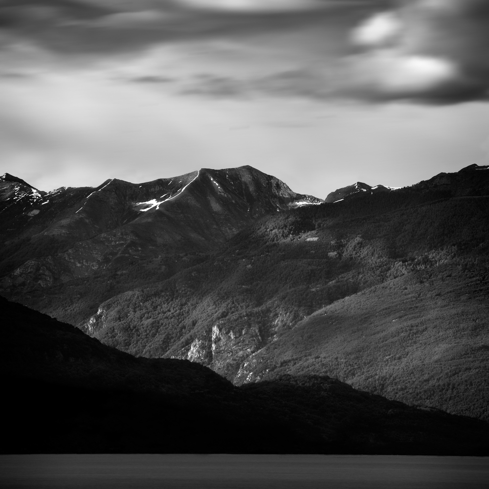"""Dark Mountains 8"" by Scott Bolendz"
