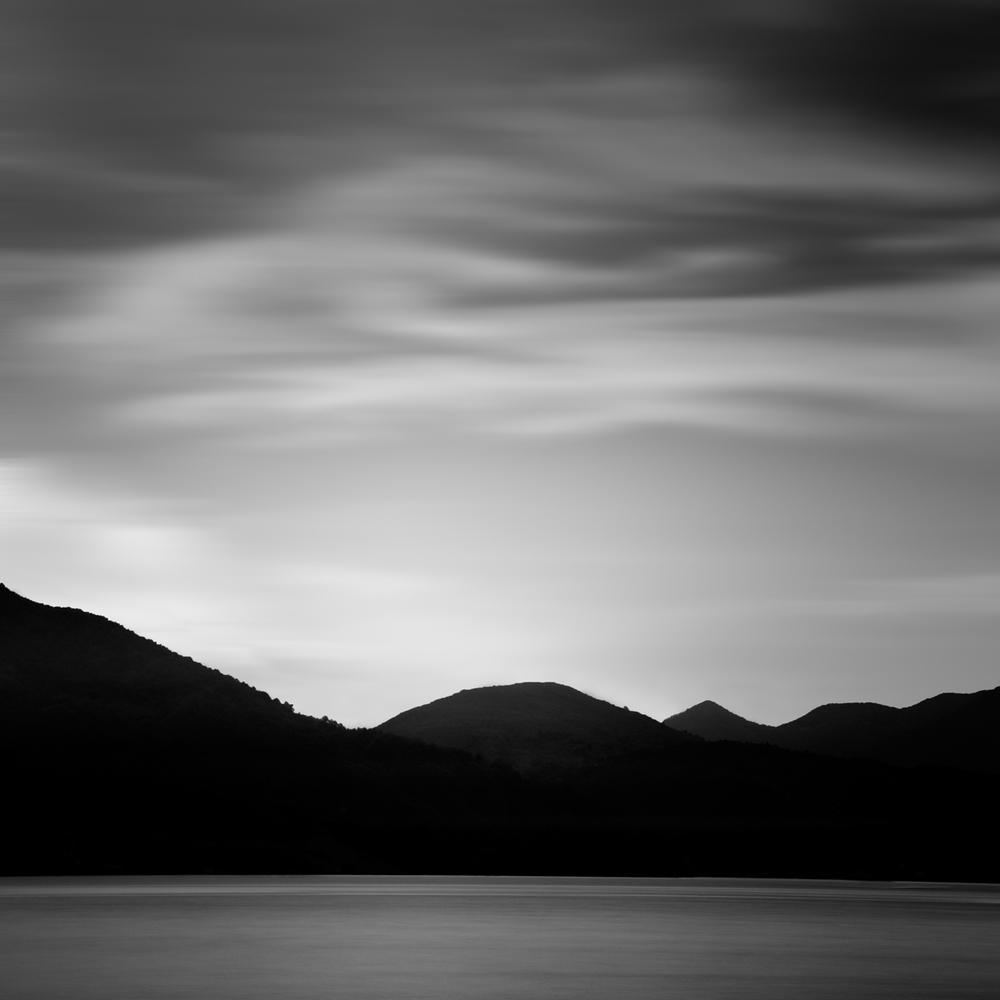 """""""Dark Mountains 12"""" by Scott Bolendz"""
