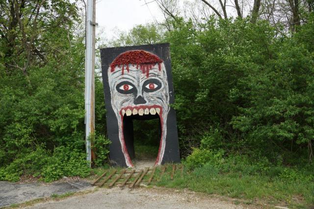 Gary Beeber -Entrance (Big Mouth), Fairborn, Ohio