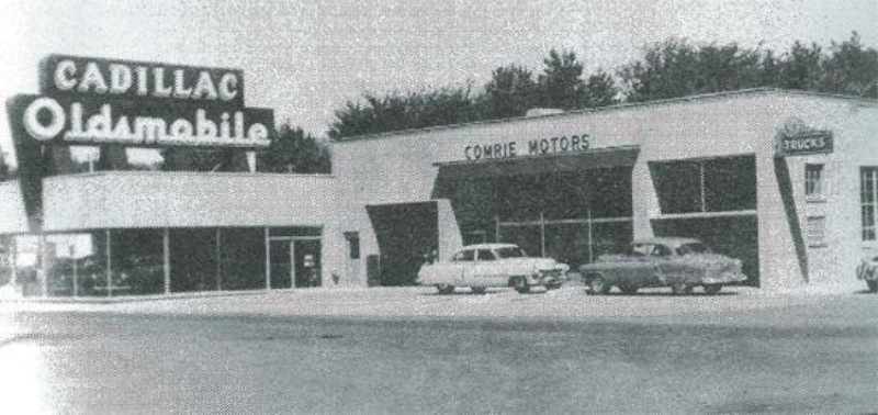 Building circa early 1950s