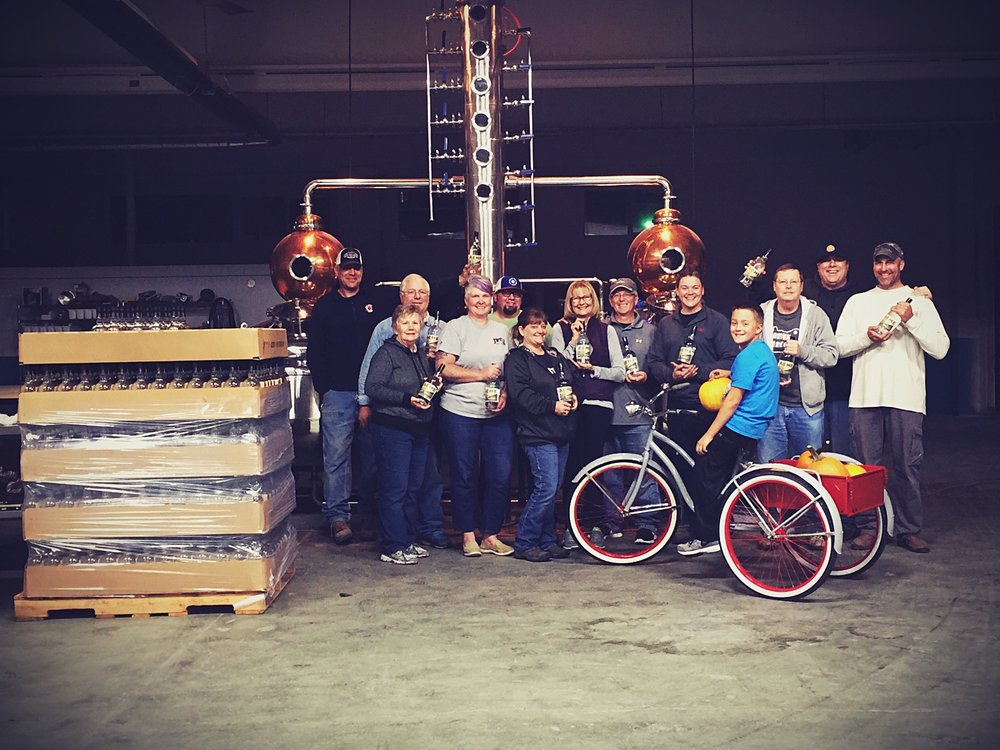 The first ACME WhISKEY BOTTLING CREW