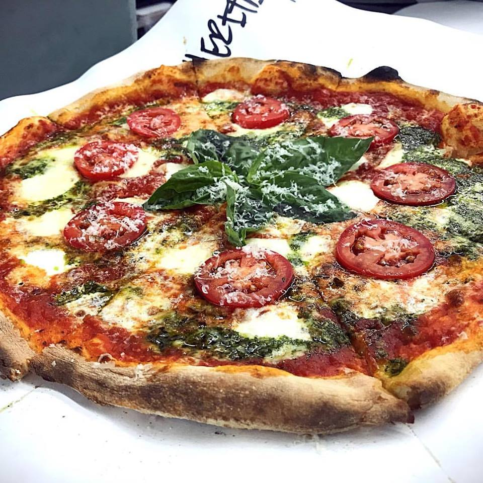 Wood fired Pizza: Our Princess Margherita