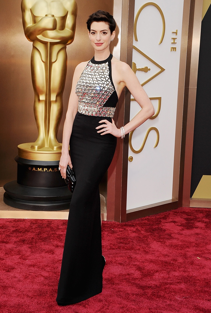 Anne Hathaway in Gucci