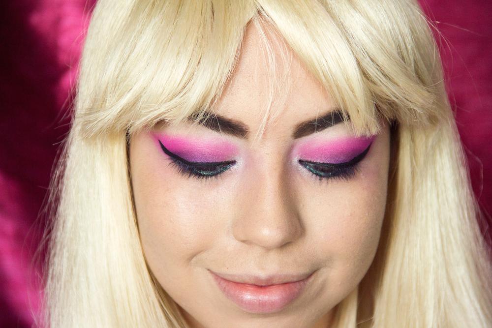 Used PIXI eyeliner, Kiss Eyelashes, LOREAL Mascara.