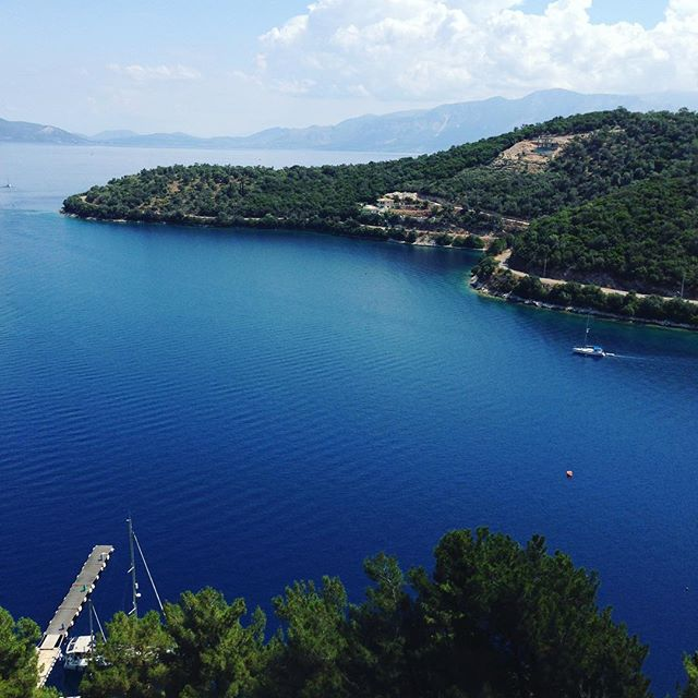 Bay #greece #greekisland #greekholiday #meganisi #trip #travel #summer #vacation #sea #ocean #water #spartochori #scenic #view