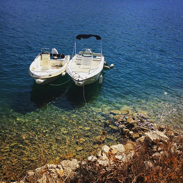 Coupling #greece #greekisland #greekholiday #meganisi #trip #travel #summer #vacation #sea #water #boats #vathi