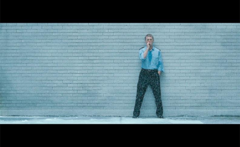 Steve McQueen's - 'Hunger'- The prison guard.