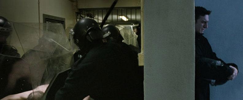 Steve McQueen's - 'Hunger' - The-riot squad officer