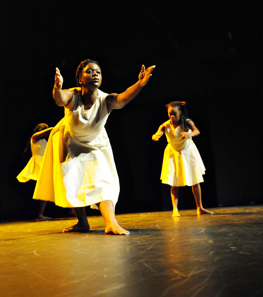 #TroubleFree (2012)Dancers: Anika Marcelle, Jillene Forde, Tracey Lucas, Jonatha Sutherland and Zhané George Dance Show: COCO Dance Festival 2012 Photography: Karen Johnstone  Location: Little Carib Theatre, Port-of-Spain - Trinidad
